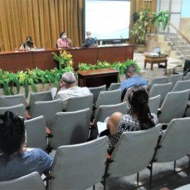 Sesiona en la UNISS taller sobre la modelación para el reinicio de las actividades docentes